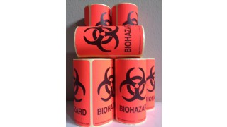 BIOHAZARD LABELS (100 LABELS)