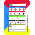 Secondary Container GHS Labels 4 x 3 in