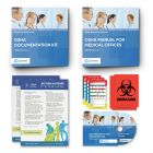 OSHA Manual Binder + Documentation Kit Binder for Medical offices