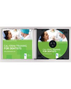 2018 CAL/OSHA TRAINING FOR DENTAL OFFICES (CD)