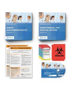WISHA Manual Binder + WISHA Documentation Binder for Medical Offices