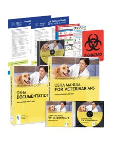 2018 OSHA DELUXE PACKAGE FOR VETERINARY OFFICES