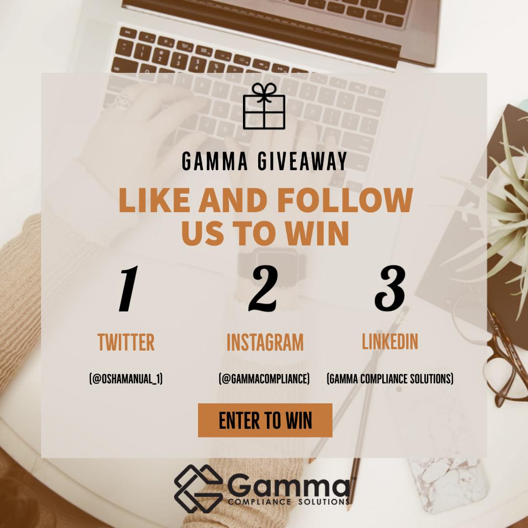 2020 Gamma Giveaway